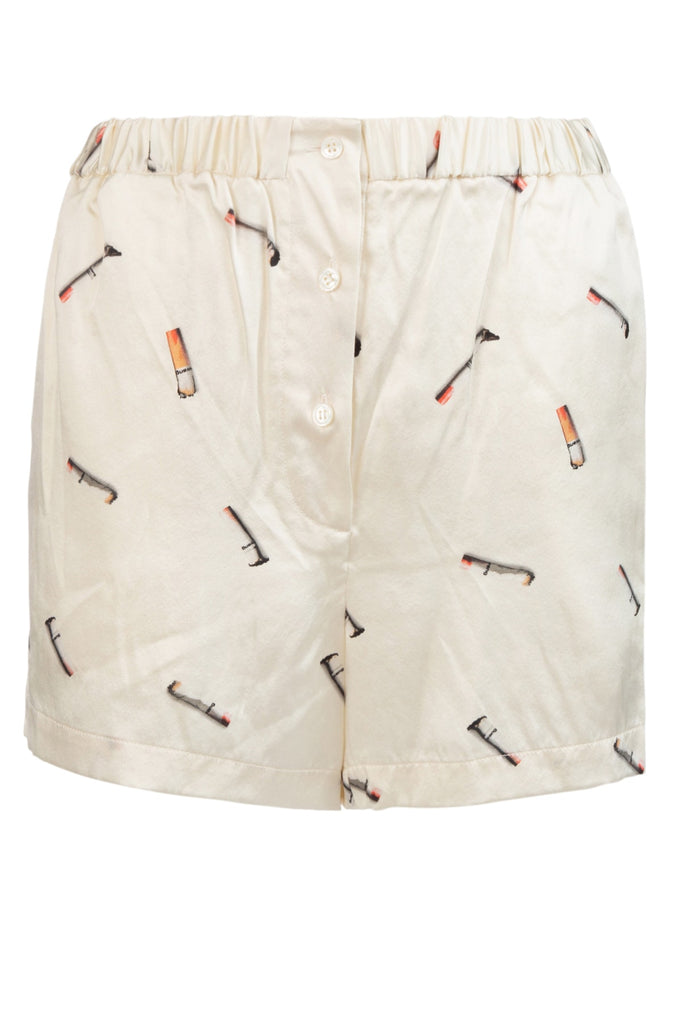 Alexander Wang Cigarette Printed Shorts
