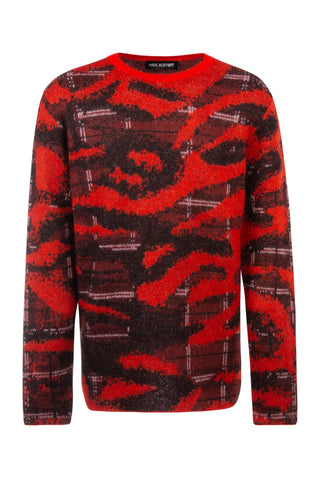 Neil Barrett Embroidered Sweater