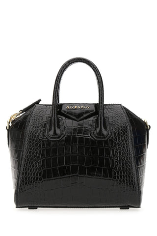 Givenchy Mini Antigona Crocodile Effect Bag