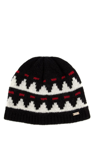Saint Laurent Knitted Beanie Hat