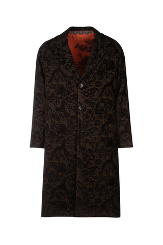 Etro Floral Embroidered Coat