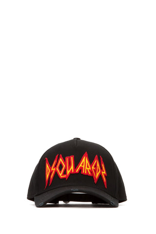 Dsquared2 Embroidered Patch Logo Baseball Cap
