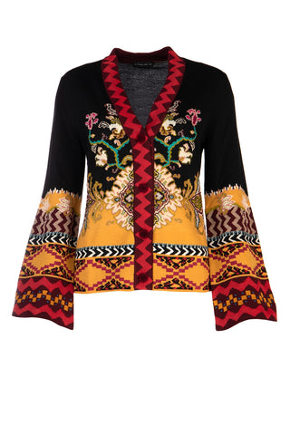 Etro Embroidered Cardigan