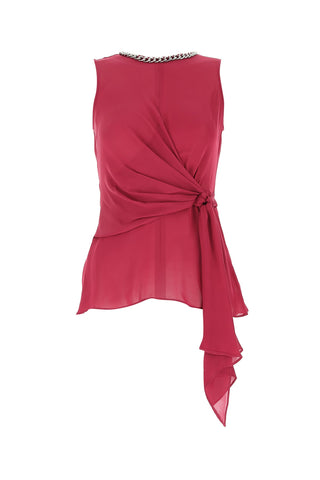 Michael Michael Kors Knot Detail Draped Top