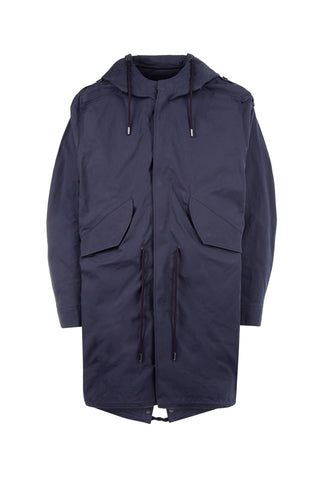 Y / Project Hooded Drawstring Parka
