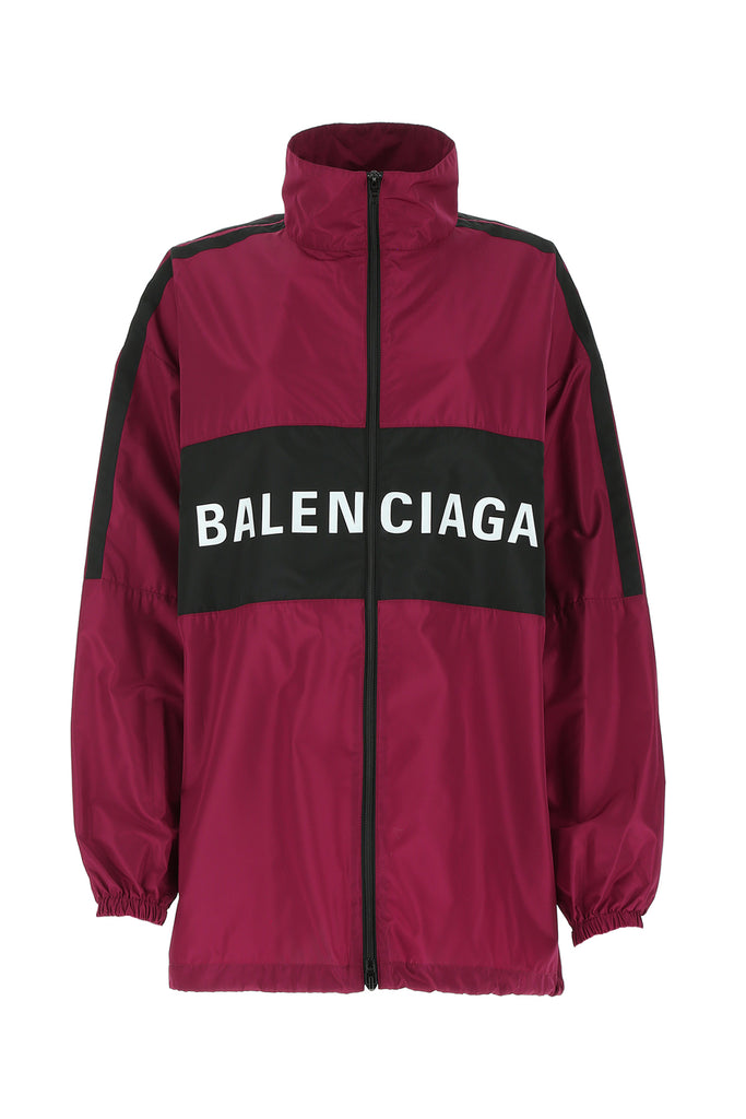 Balenciaga Zipped Logo Jacket