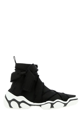 Red Valentino Glam Run Sock Sneakers