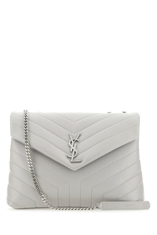 Saint Laurent Loulou Logo Quilted Shoulder Bag