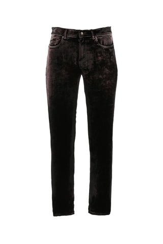 Saint Laurent Velvet Jeans