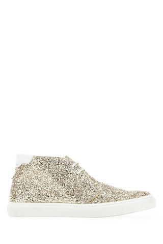 Saint Laurent Glittered Sneakers