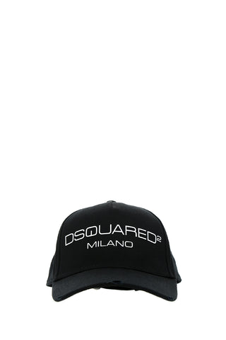 Dsquared2 Milano Embroidered Baseball Cap