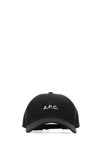 A.P.C. Logo Embroidered Baseball Cap
