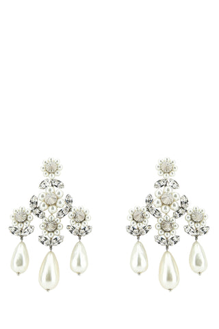 Simone Rocha Embellished Drop Earrings