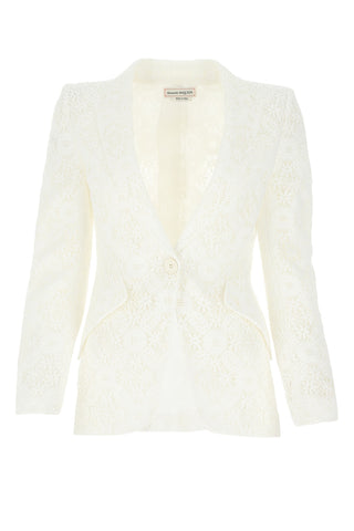 Alexander McQueen Endangered Flower Lace Jacket