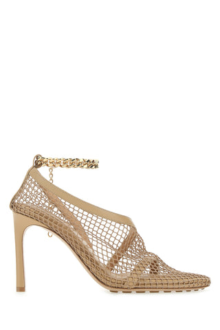 Bottega Veneta Mesh Overlay Pumps