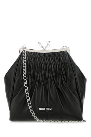 Miu Miu Matelassé Kiss-Lock Shoulder Bag