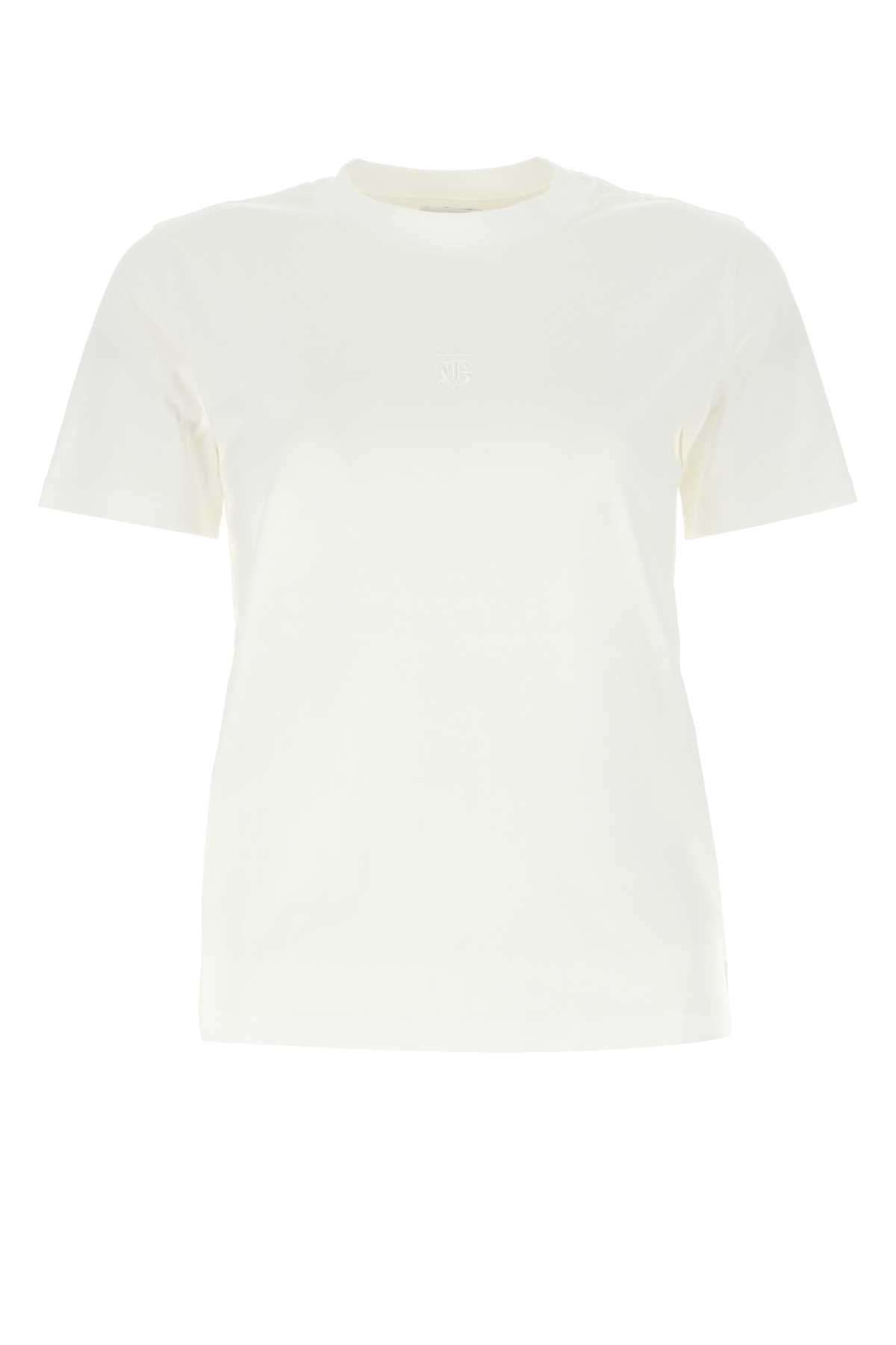 Burberry BURBERRY EMBROIDERED LOGO MONOGRAM T