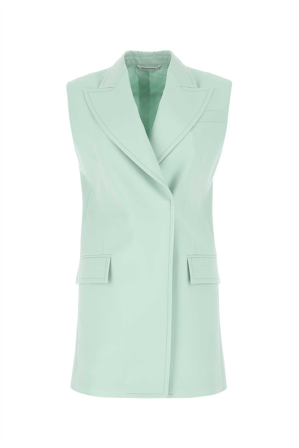 Givenchy Wools GIVENCHY DOUBLE BREASTED SLEEVELESS JACKET
