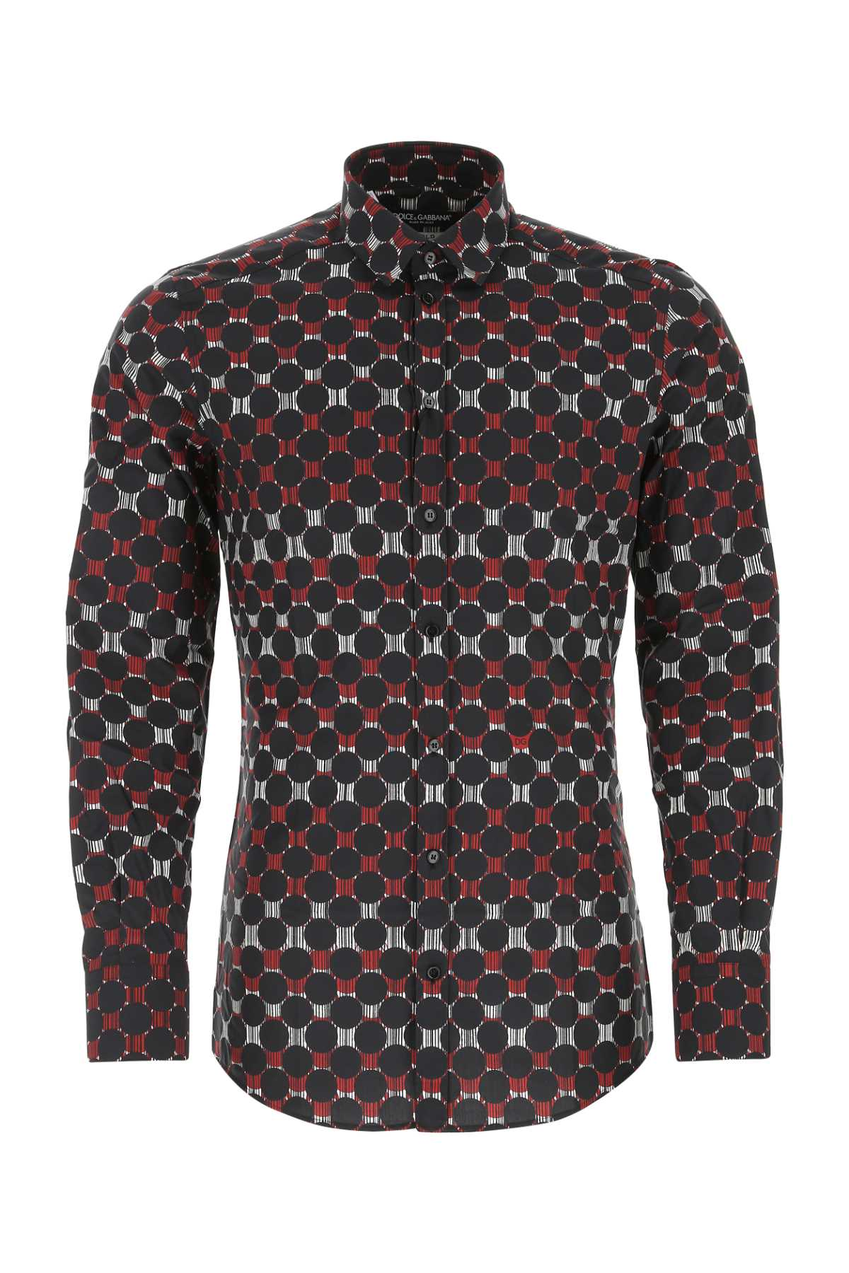 Dolce & Gabbana Cottons DOLCE & GABBANA PRINTED FITTED SHIRT