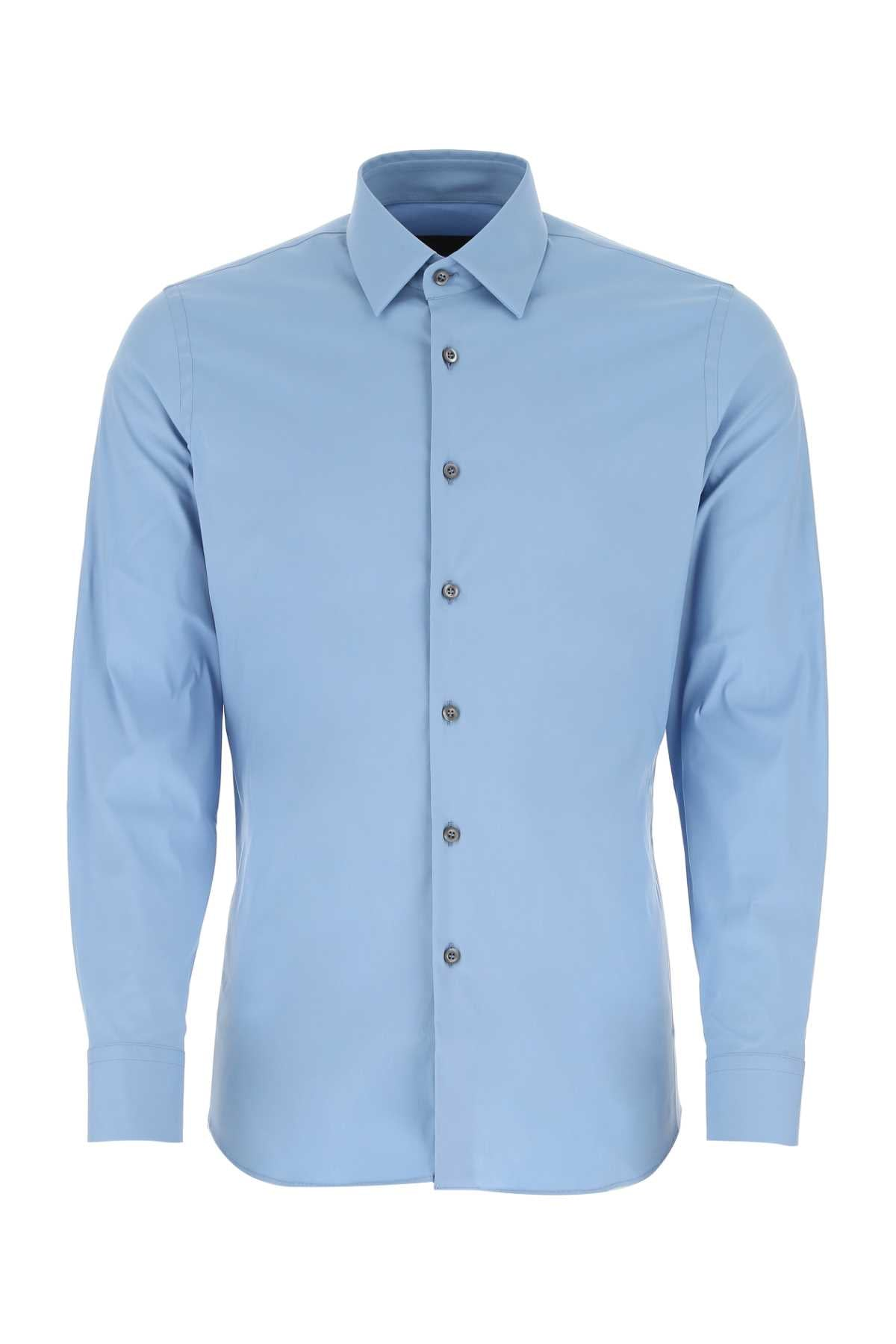 Prada PRADA STRETCH POPLIN SHIRT