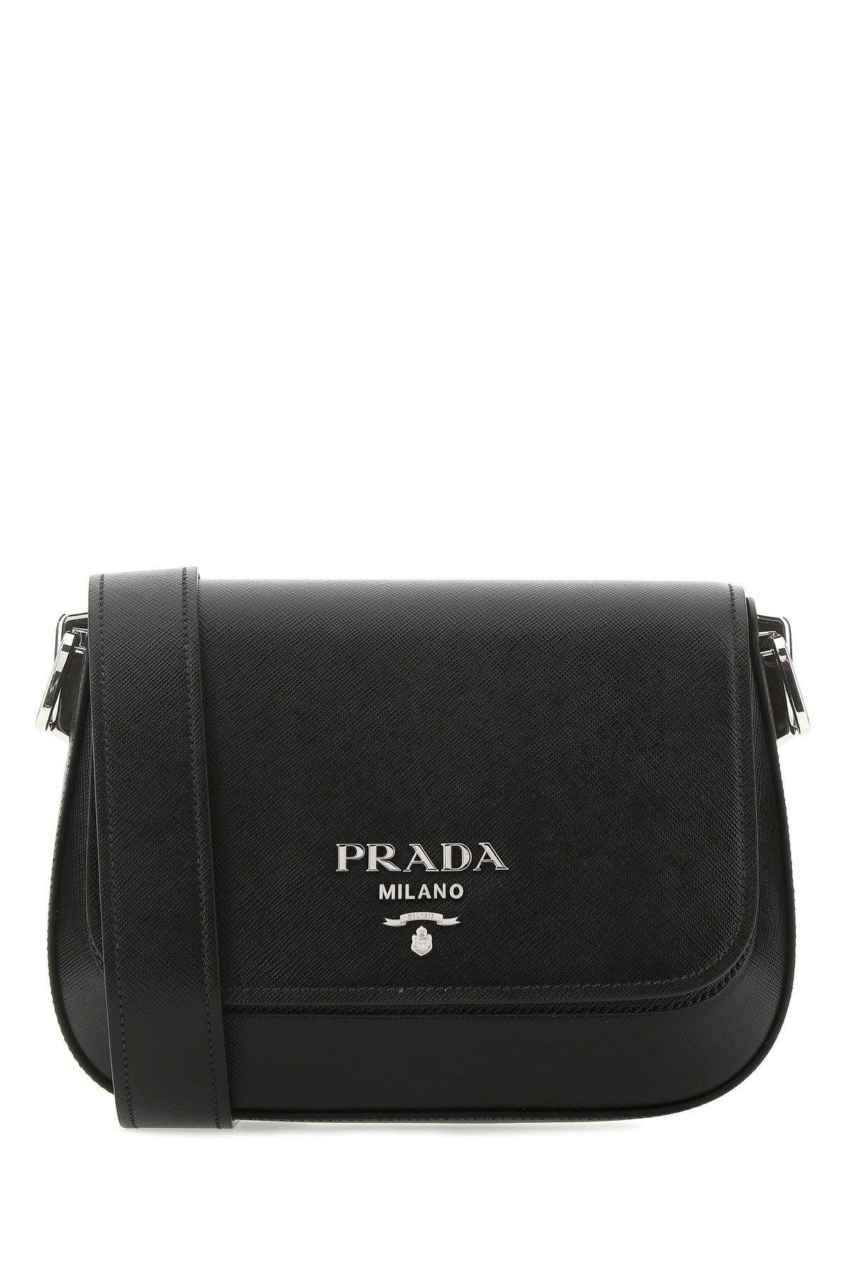 Prada PRADA LOGO SAFFIANO SHOULDER BAG