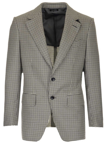 Tom Ford Houndstooth Blazer