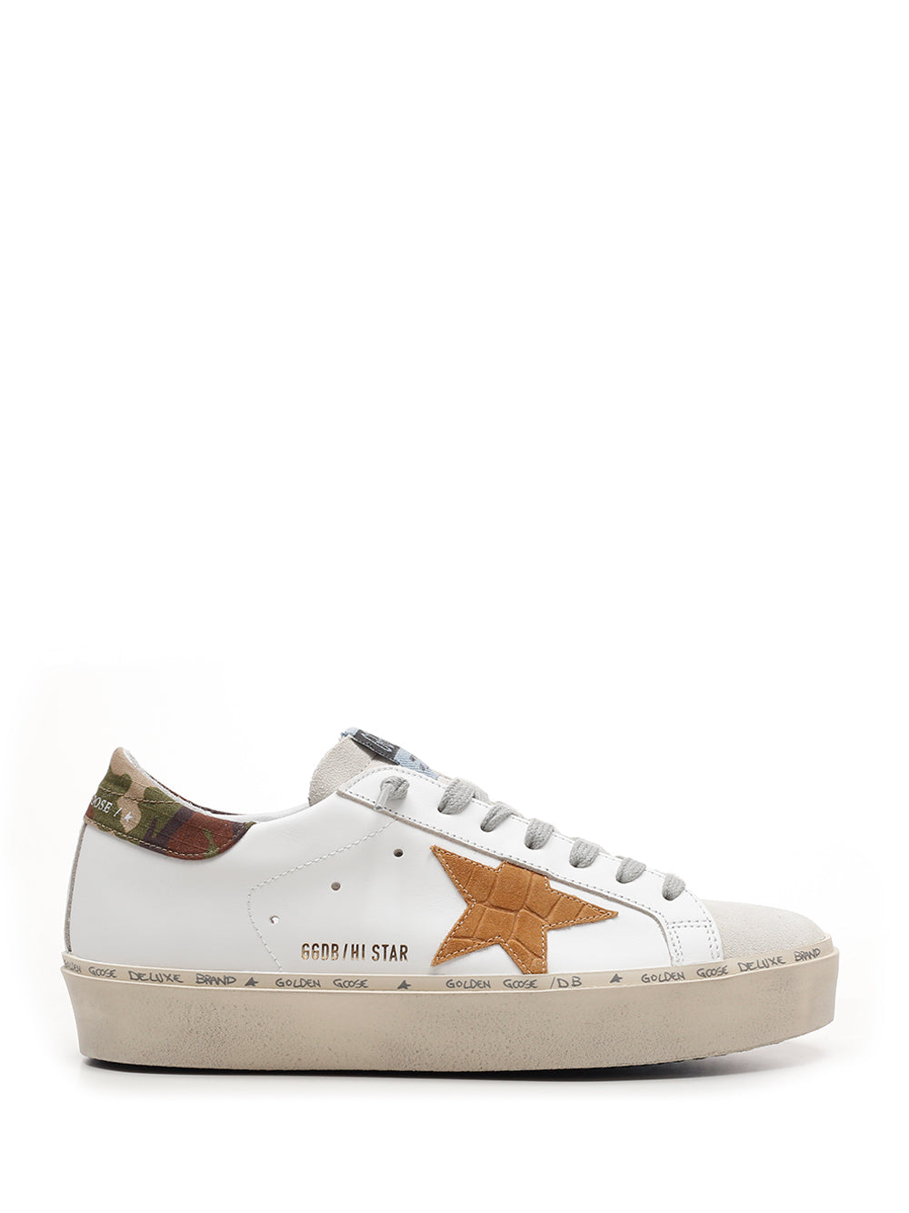 Golden Goose GOLDEN GOOSE DELUXE BRAND HI STAR SNEAKERS