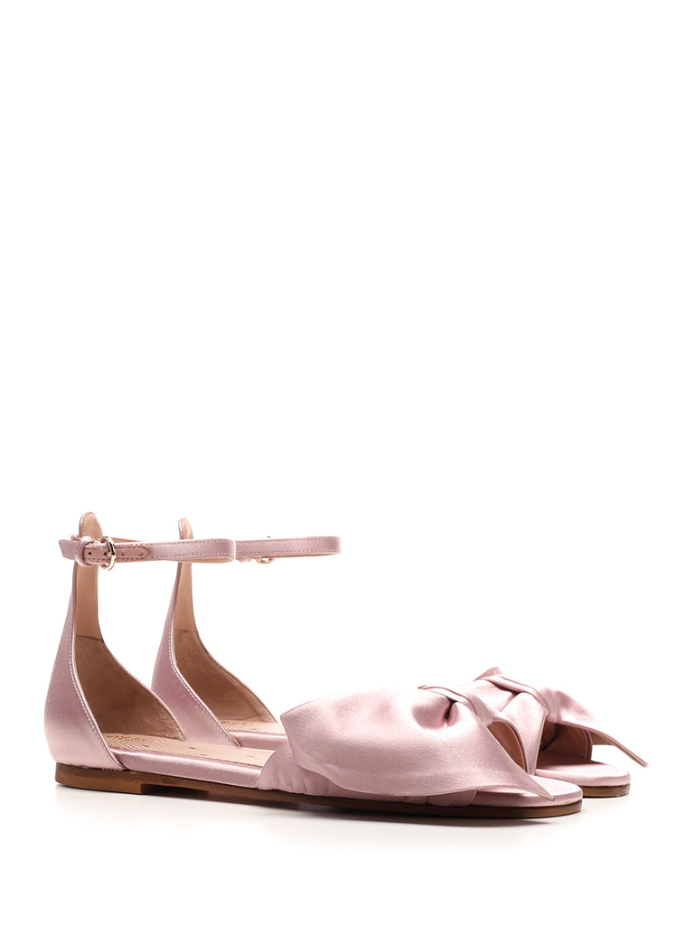 RED VALENTINO Leathers REDVALENTINO BOW ANKLE