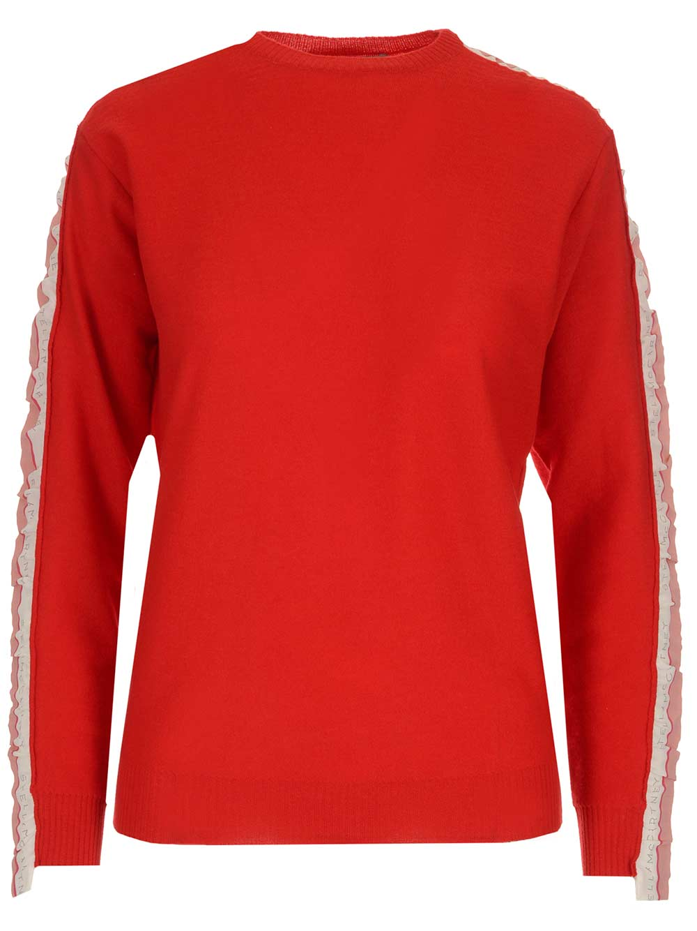 Stella Mccartney STELLA MCCARTNEY LOGO SIDE BAND SWEATSHIRT
