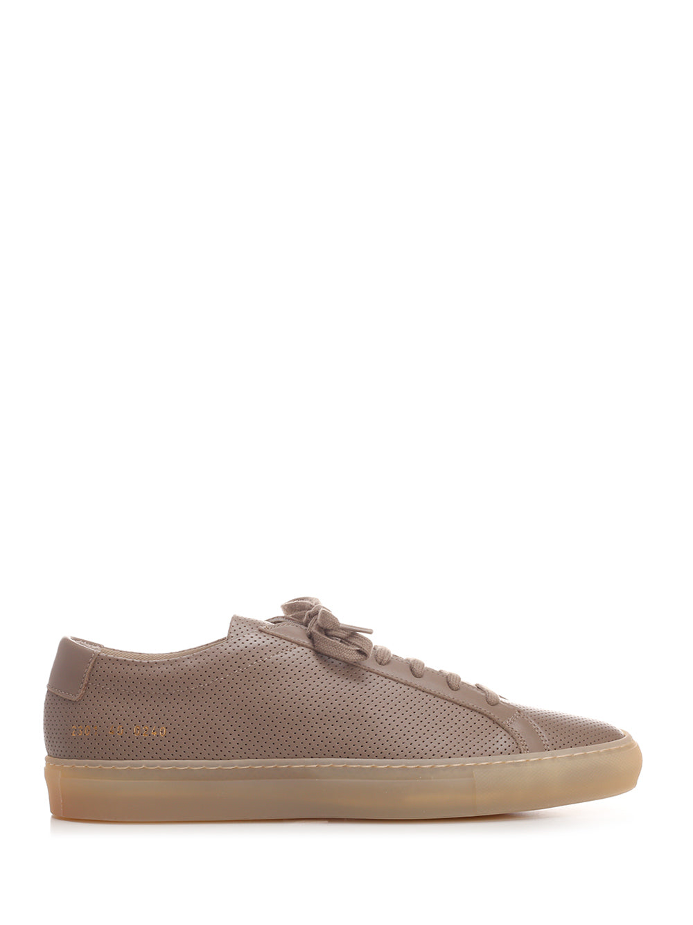 Common Projects Leathers COMMON PROJECTS ACHILLES LOW PERFORATED SNEAKERS
