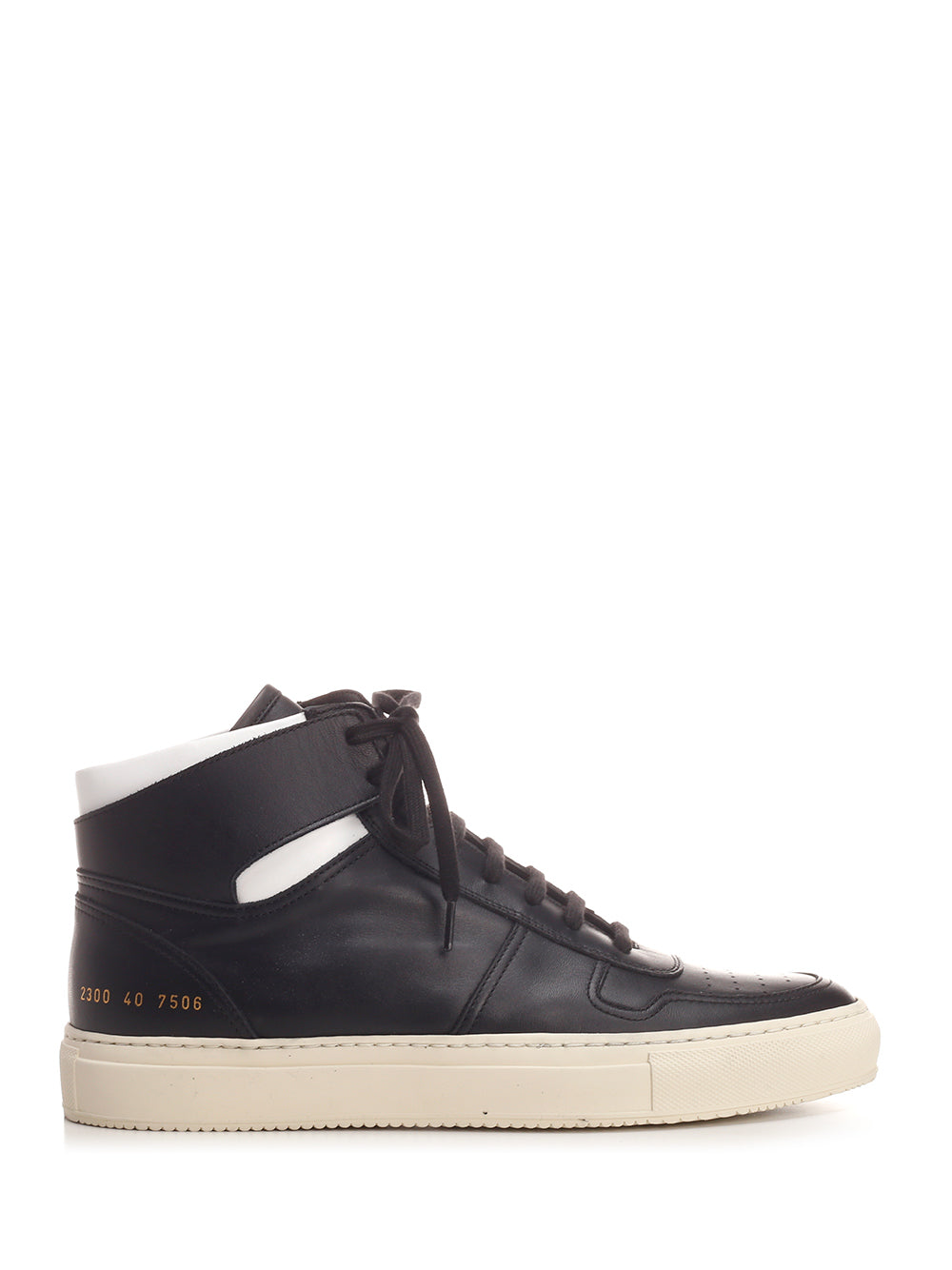 Common Projects Leathers COMMON PROJECTS BBALL HIGH TOP SNEAKERS