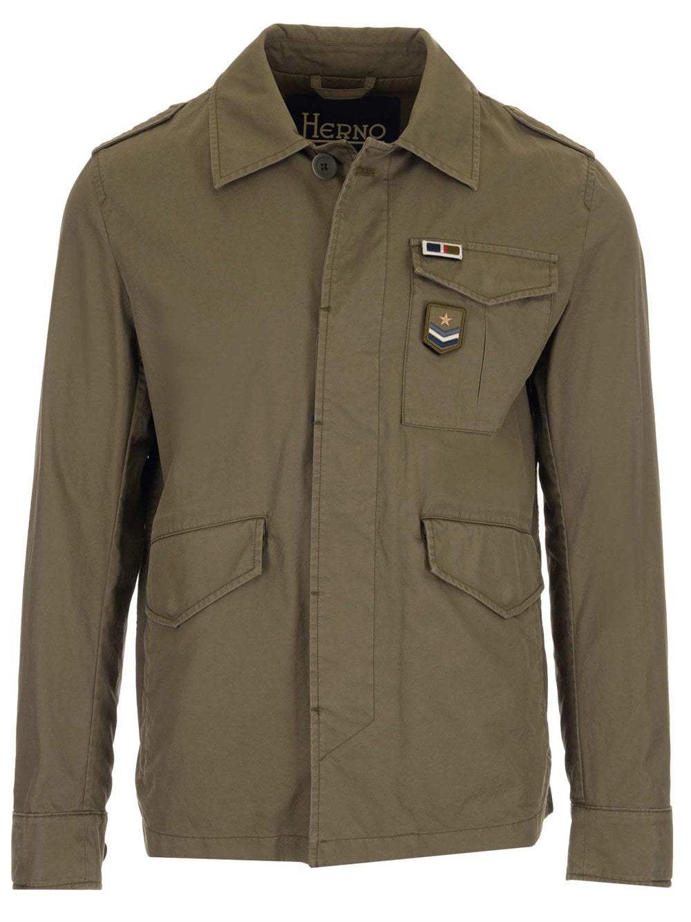 Herno HERNO PATCH MILITARY JACKET