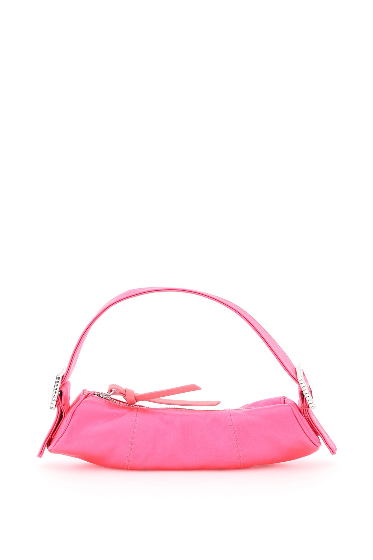 By Far BY FAR KUBI SATIN TOP HANDLE BAG