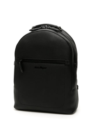 Salvatore Ferragamo Front Pocket Backpack