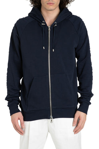 Balmain Drawstring Hooded Jacket