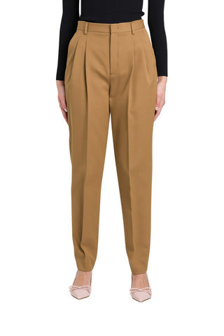 Red Valentino High-Waisted Tapered Trousers