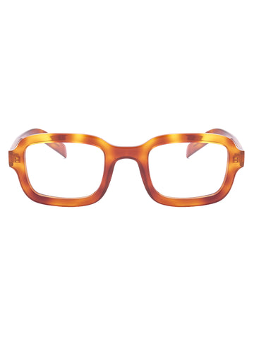 Prada Eyewear Rectangular Frame Glasses