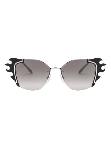 Prada Eyewear Ornate Sunglasses