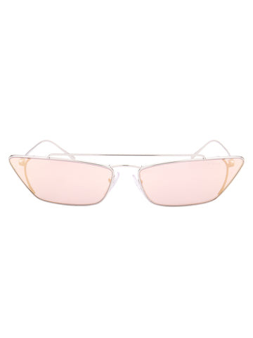 Prada Eyewear Tinted Cat Eye Sunglasses