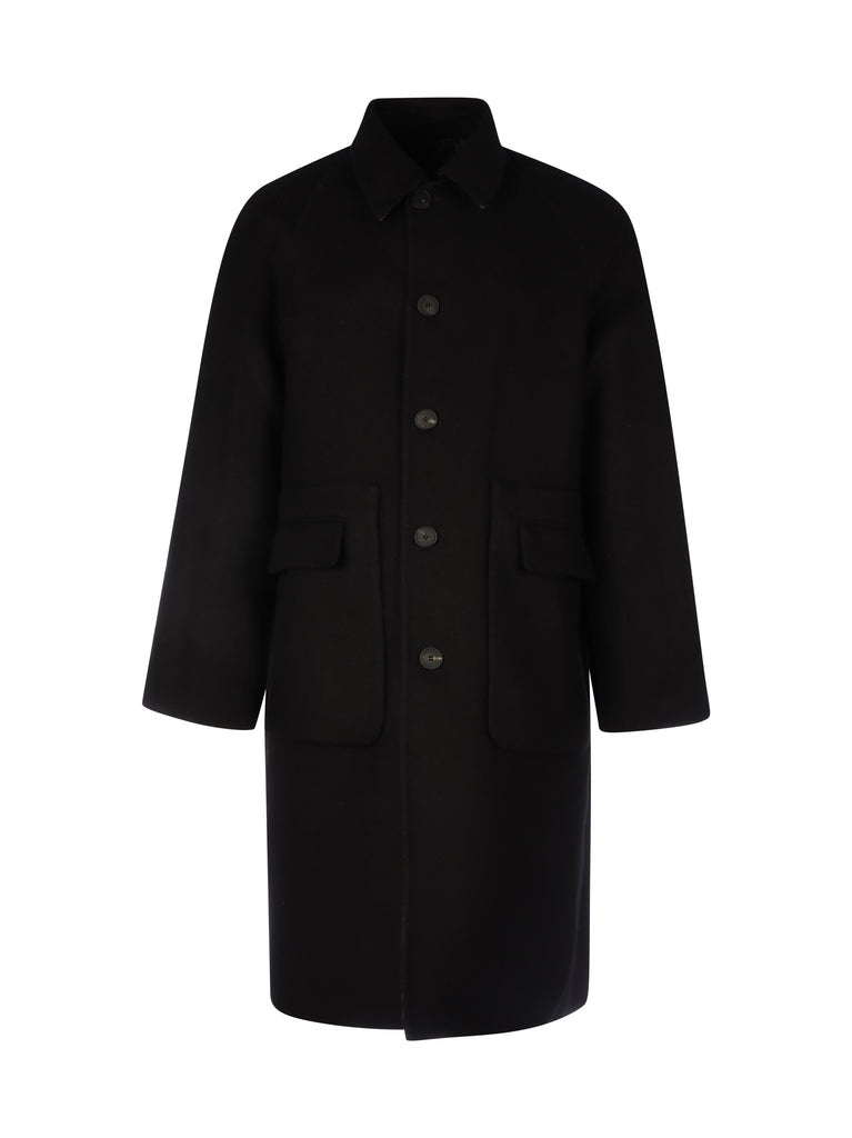GIVENCHY Silks GIVENCHY CHAIN REVERSIBLE JACQUARD COAT