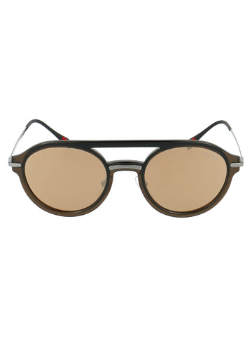 Prada Eyewear Double Bridge Sunglasses