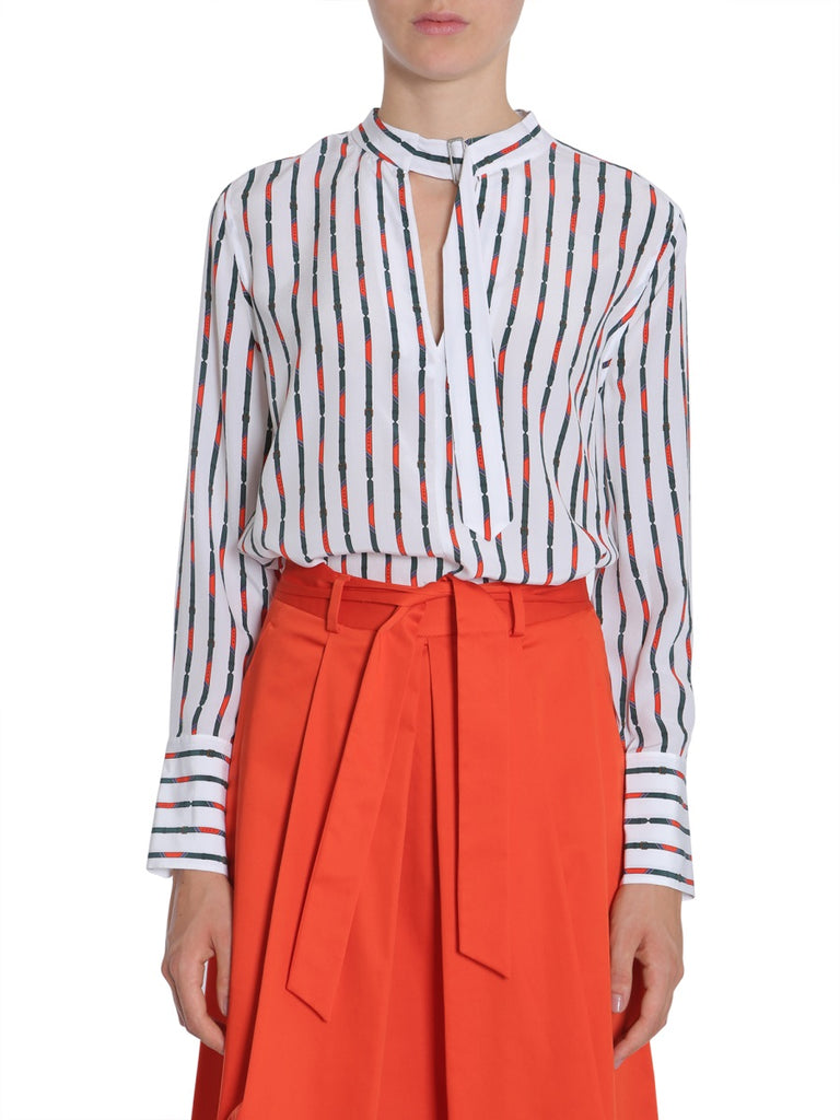 Equipment Janelle Striped Shirt
