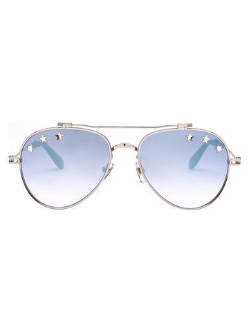 Givenchy Eyewear Star Detail Aviator Sunglasses