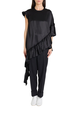 Simone Rocha Ruffled Asymmetric Top