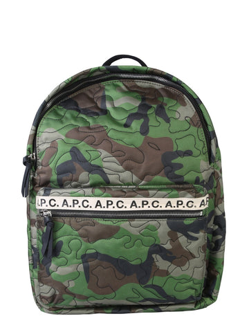 A.P.C. Marc Camouflage Backpack