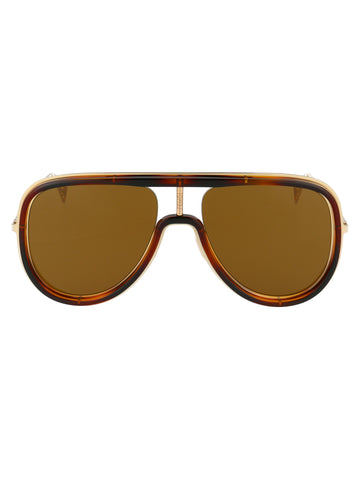 Fendi Eyewear Oversize Aviator Sunglasses