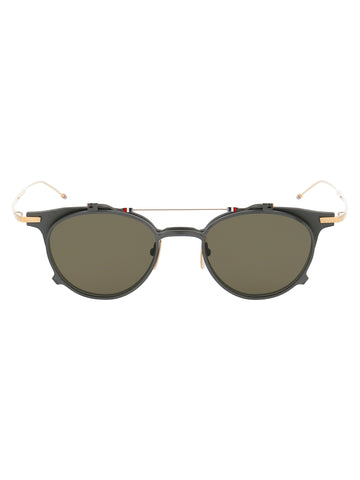Thom Browne Eyewear Double Round Frame Sunglasses