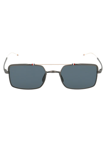 Thom Browne Eyewear Square Aviator Sunglasses