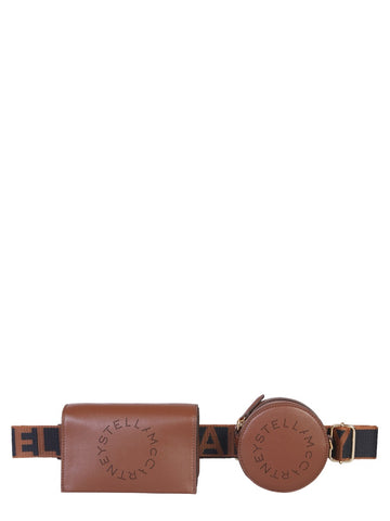 Stella McCartney Logo Embroidered Waist Strap Belt Bag