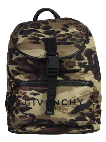 Givenchy Camouflage Printed Backpack